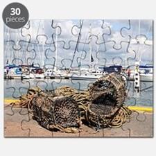 Lobster pots, Yarmouth, England Puzzle