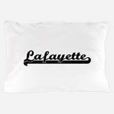 Lafayette Louisiana Classic Retro Desi Pillow Case