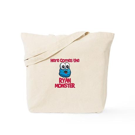 Ryan Monster Tote Bag