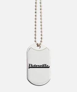 Victorville California Classic Retro Desi Dog Tags