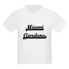 Miami Gardens Florida Classic Retro Design T-Shirt