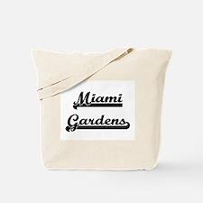 Miami Gardens Florida Classic Retro Desig Tote Bag