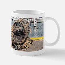 Lobster pots, Yarmouth, England Mugs