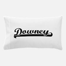 Downey California Classic Retro Design Pillow Case