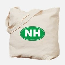 New Hampshire NH Euro Oval Tote Bag
