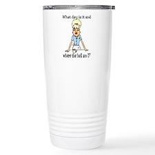 Funny Steward Travel Mug