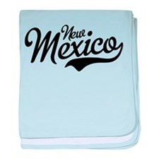 New Mexico Script baby blanket
