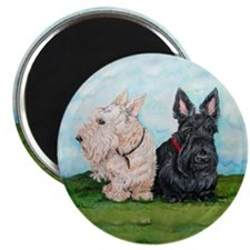 Scottish Terrier Companions Magnet