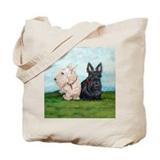 Scottish Terrier Companions Tote Bag