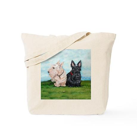 Scottish Terrier Companions Tote Bag