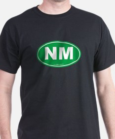 New Mexico NM Euro Oval T-Shirt