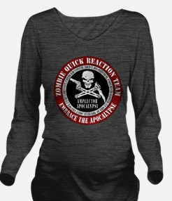 Zombie Quick Reaction Team Long Sleeve Maternity T