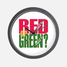Red or Green? Wall Clock
