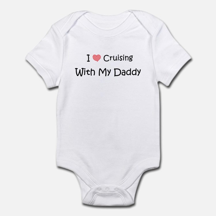 Cruising with Daddy Infant Bodysuit
