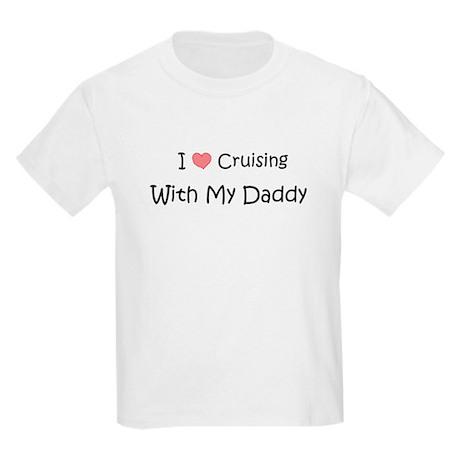 Cruising with Daddy Kids Light T-Shirt