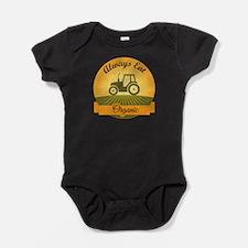 Always Eat Organic Baby Bodysuit
