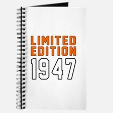 Limited Edition 1947 Journal