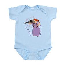 Viola Player Infant Bodysuit