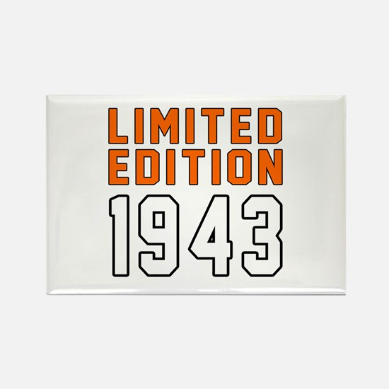Limited Edition 1943 Rectangle Magnet