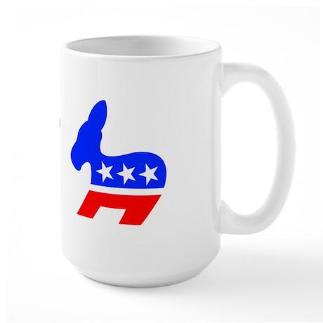 Defeat Hillary Large Mug