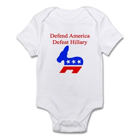 Defeat Hillary Infant Bodysuit