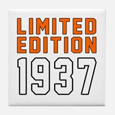 Limited Edition 1937 Tile Coaster
