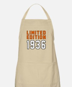 Limited Edition 1936 Apron