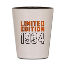 Limited Edition 1934 Shot Glass