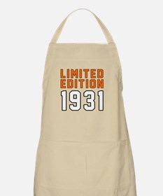 Limited Edition 1931 Apron