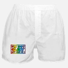 I'm not gay my ass is Boxer Shorts