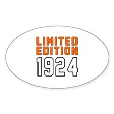Limited Edition 1924 Decal