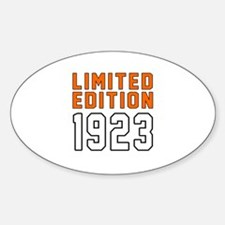 Limited Edition 1923 Decal