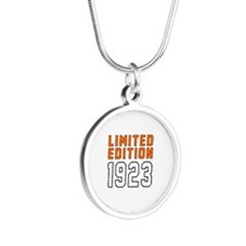 Limited Edition 1923 Silver Round Necklace