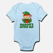 Mamaw's Little Elf Body Suit