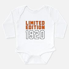 Limited Edition 1920 Long Sleeve Infant Bodysuit
