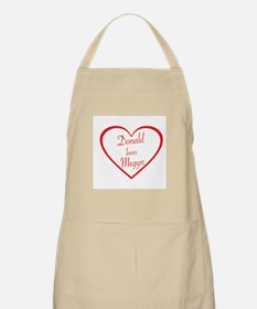 DONALD LOVES MEGYN - TRUMP AND KELLY - POLIT Apron