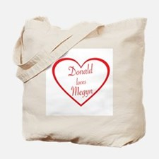 DONALD LOVES MEGYN - TRUMP AND KELLY - PO Tote Bag