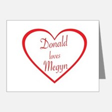 DONALD LOVES MEGYN - TRUMP AND KELLY - Note Cards