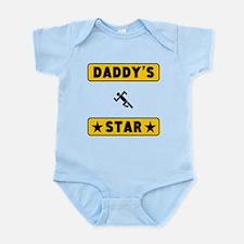 Daddys Running Star Body Suit