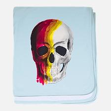 Dripping Skull baby blanket