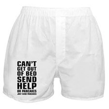 Help Send Pancakes Boxer Shorts