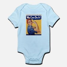 Cute Rosie riveter Infant Bodysuit