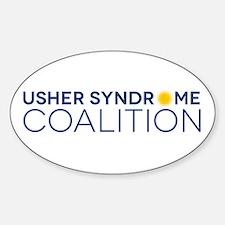 Usher Syndrome Coalition Logo Decal