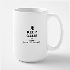 KEEP CALM AND READ SHERLOCK HOLMES Mug
