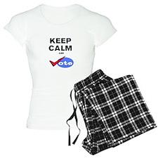 KEEP CALM AND VOTE Pajamas