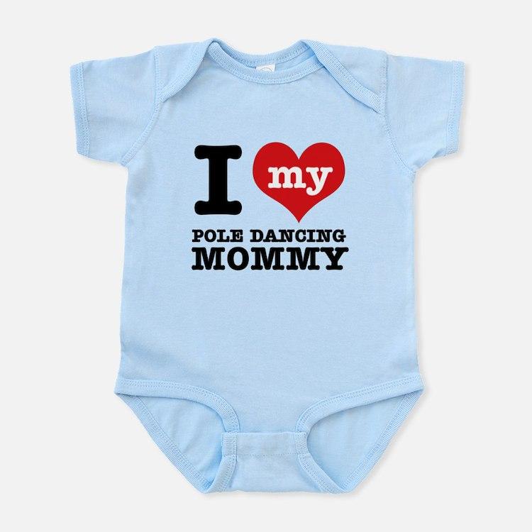 Cute Pole dancing Infant Bodysuit