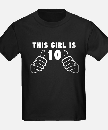 This Girl Is 10 T-Shirt