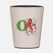 O is for Octopus Shot Glass