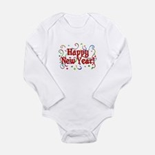 Happy New Year Long Sleeve Infant Bodysuit
