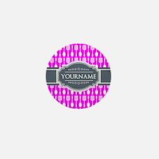 Custom Hot Pink Kitchen Unte Mini Button (10 pack)